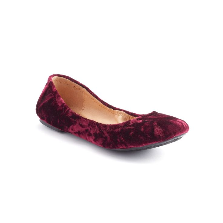 SONOMA Goods for Life™ Women's Ballet Flats, Size: 7.5, Red