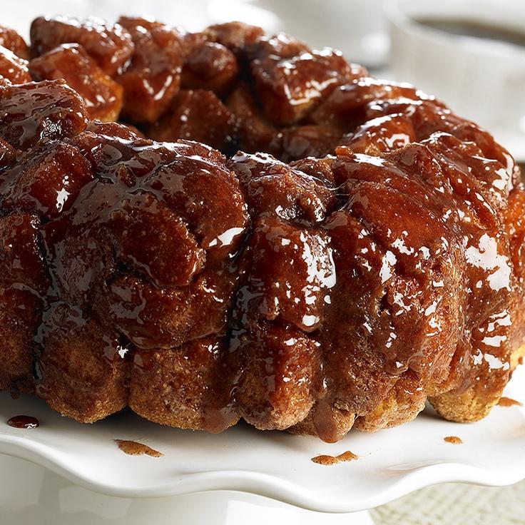 Cinnamon Pull Aparts: Cinnamon Monkey Bread