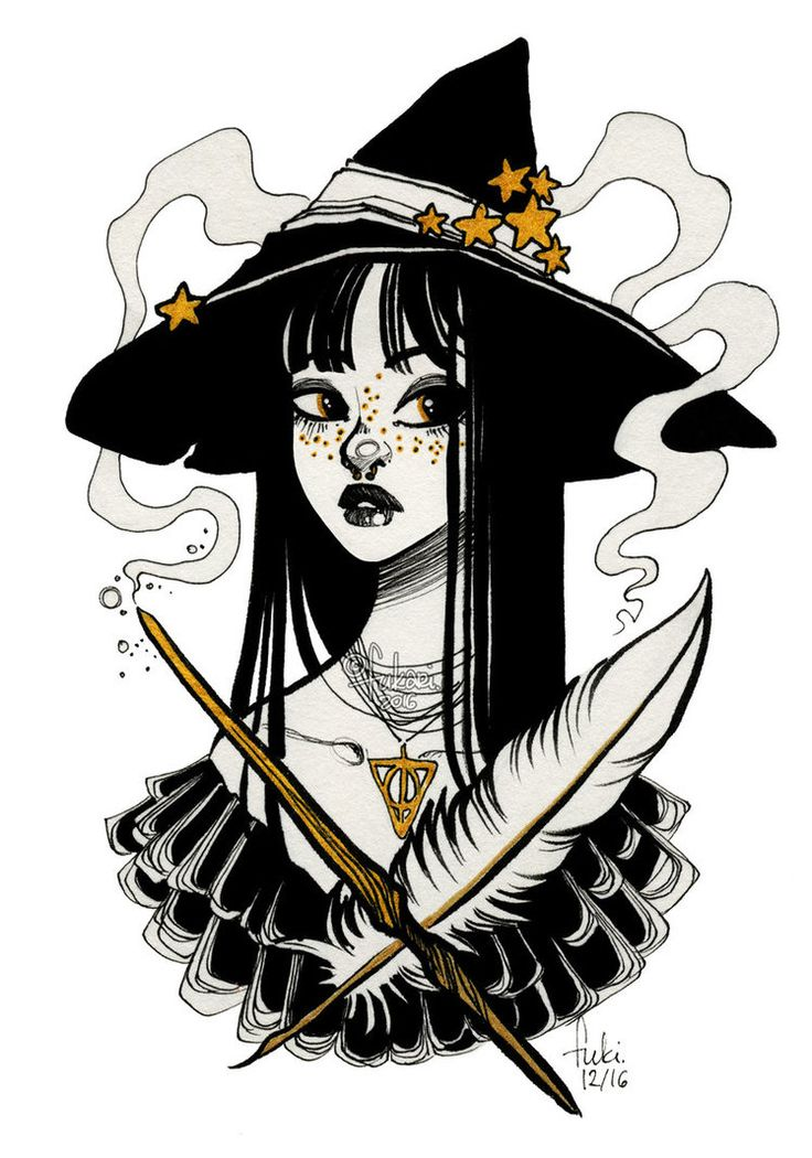 Best 25 Witch Drawing Ideas On Pinterest Art Modern