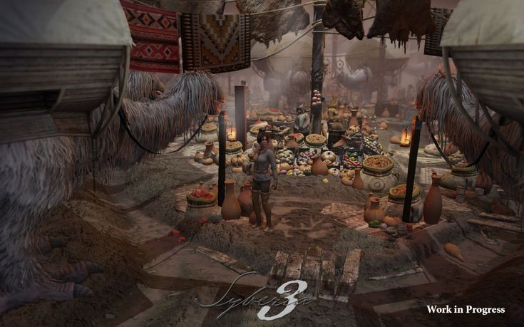 Microids - FIRST SYBERIA 3 SCREENSHOTS REVEALED!