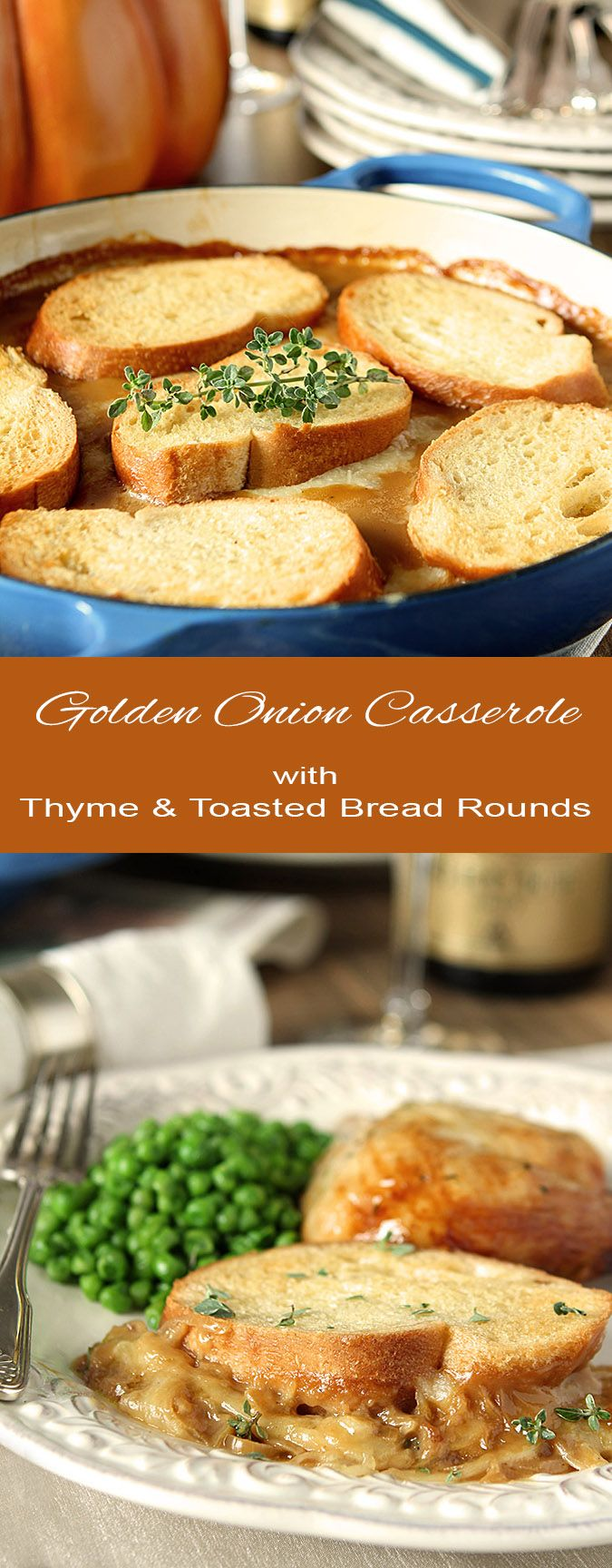 3715 best lets pull up a chair images on pinterest chair golden onion casserole with thyme and toasted bread rounds tastes like french onion soup in a casserole forumfinder Gallery