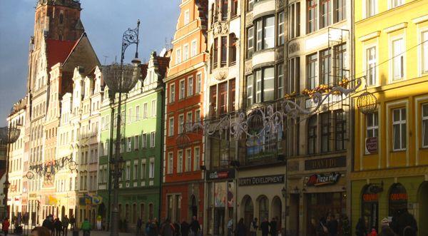 Magasin Polonais La petite Pologne: La ville de Wrocław