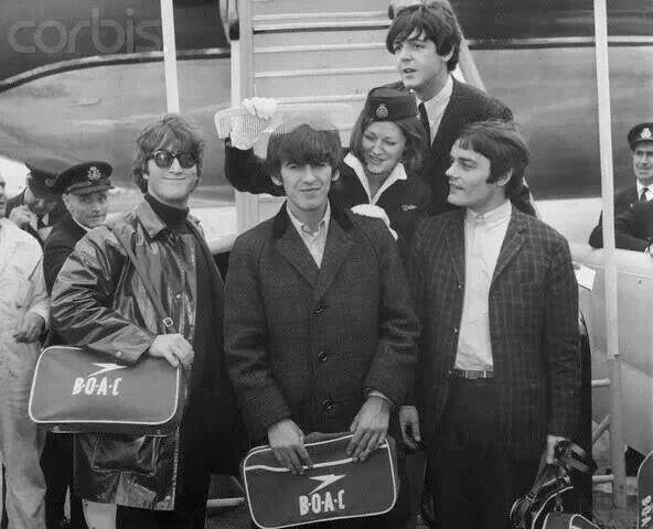 Beatles with Jimmy Nicol (Ringo had tonsillitis)