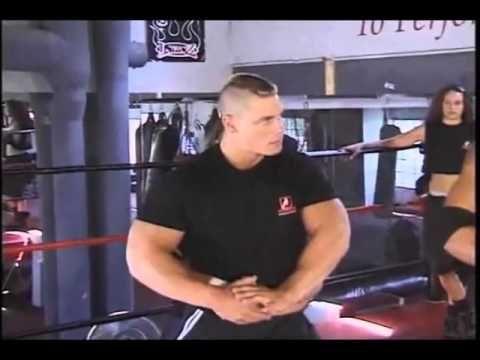 John Cena training at Pro Wrestling School
