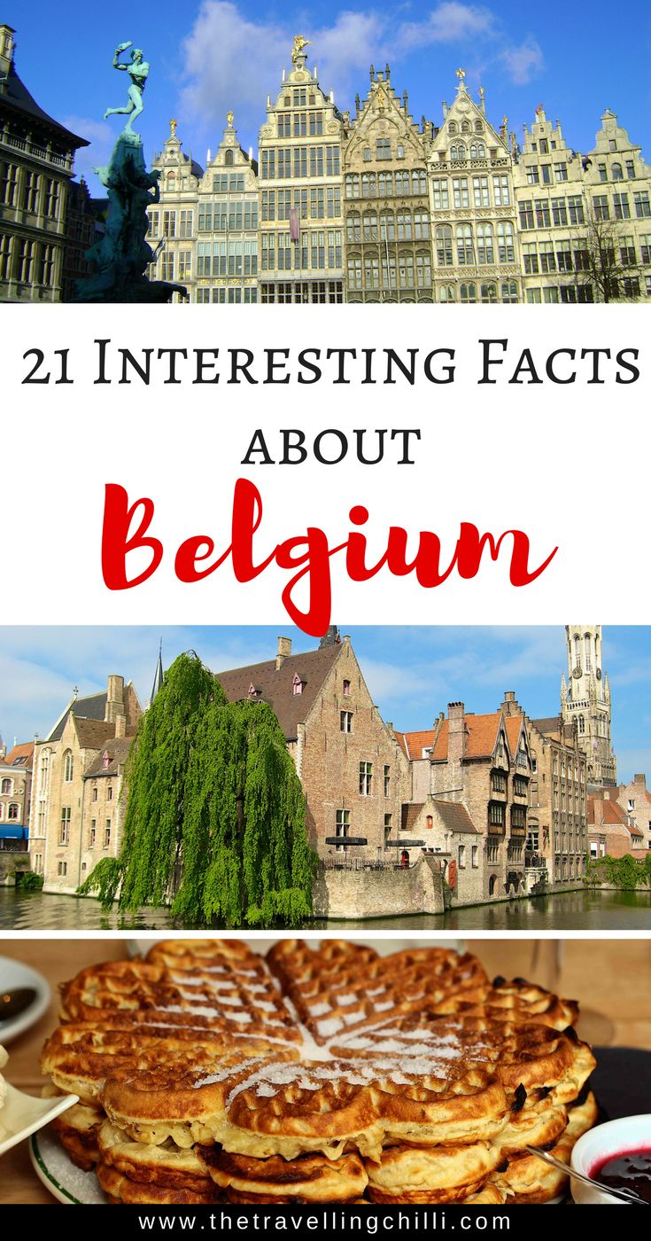 21 Interesting facts about Belgium | Belgium facts | 21 Facts most people don't know about Belgium