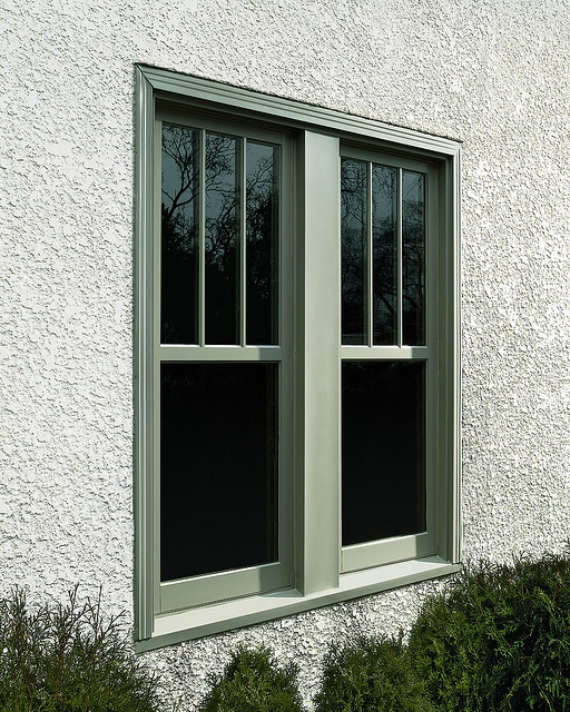 Ultimate replacement casement simulated double hung for Double hung exterior french doors