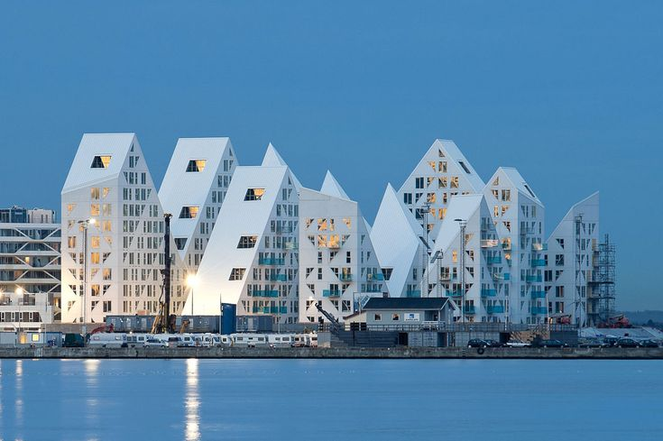 The Iceberg in Aarhus, Denmark.