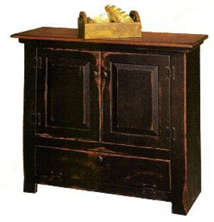 Amazing Black Distressed Furniture | Pin It 2 Like 2 Image