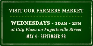 Raleigh NC | Downtown Raleigh Farmers' Market  (May - September)