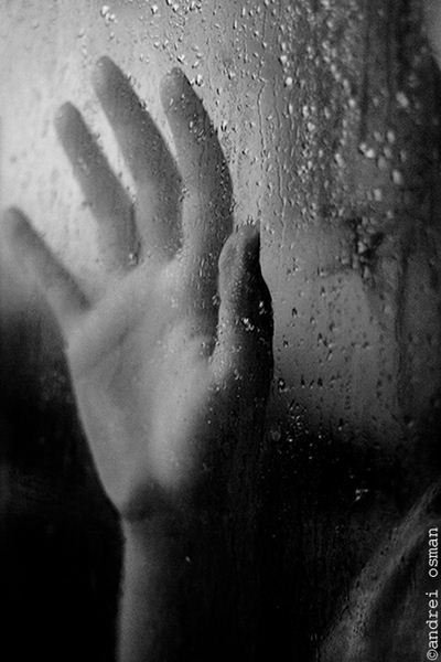 ....touching rain...
