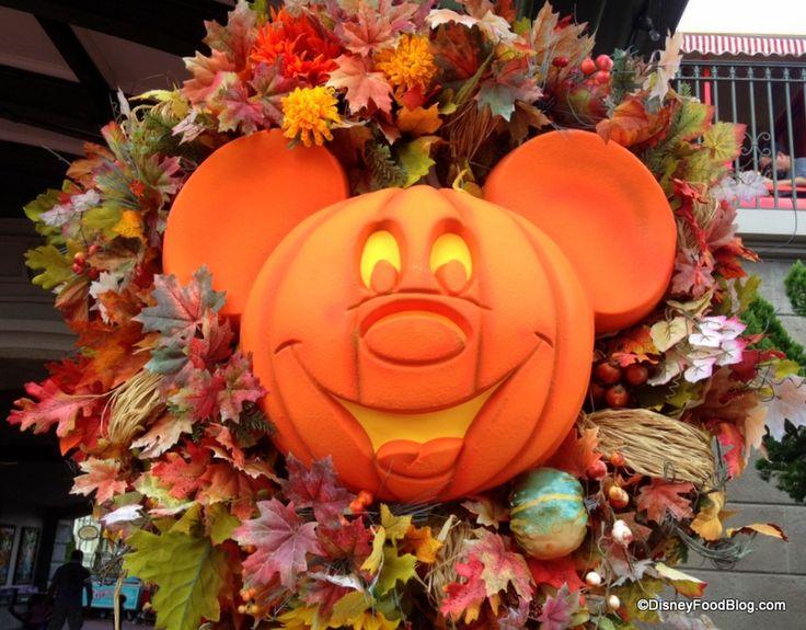 disney halloween decorations on main street - Disney Halloween Decorations