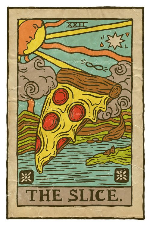 joshlafayette:  I see pizza in your future. Prints and more in my Society6 shop!