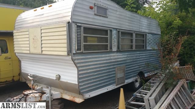 For Sale/Trade:  vintage 1968 trailblazer pull behind camper