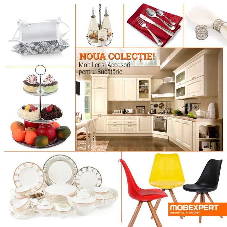 Noua colecție - mobilier și accesorii bucătărie. #mobexpert #kitchendesign #mobilier #bucatarie