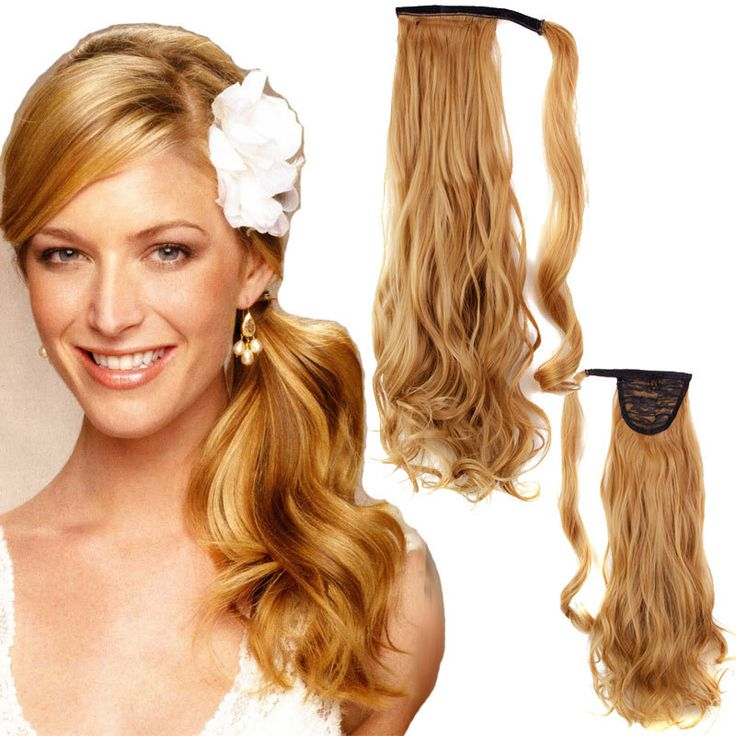 Hair Straightener Curly On Sale At Reasonable Prices Buy Black Synthetic Long Clip In Ribbon Ponytail Extension Hairpiece Fake Pony