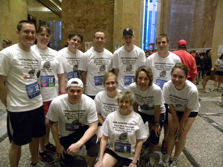 Competitive Stair Climbing  - How to Train For a Stair Climb