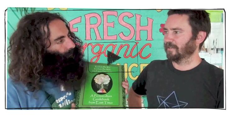 Video about the Tropical Permaculture Guidebook - a practical reference guide for implementing permaculture techniques that are specific to tropical climates. It was a gift of 'permaculture knowledge' from Timor Leste to the region.