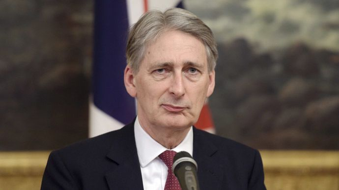 British Foreign Secretary Philip Hammond. (Reuters/Markku Ulander) OF COURSE NOT ISIS ARE THE ALLIES OF BRITAIN