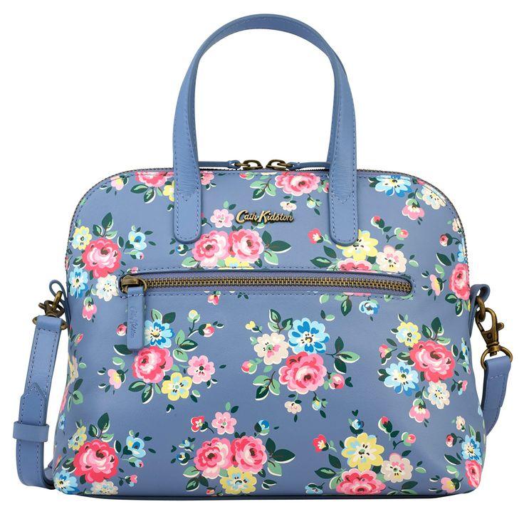 Latimer Rose Printed Mini Leather Handbag | Cath Kidston |