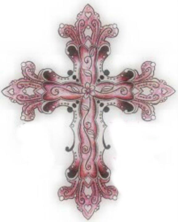 Girly cross loveeee for Girly cross tattoo