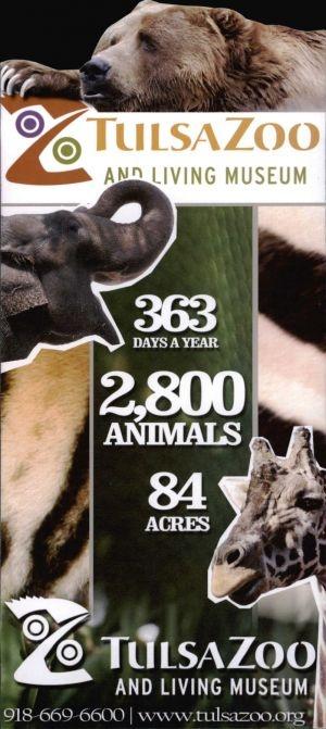 Tulsa Zoo Brochure