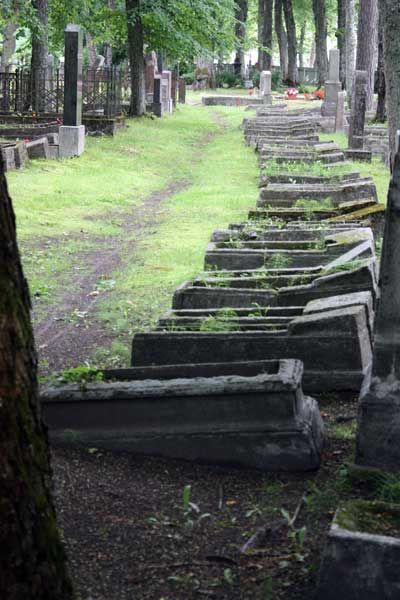 the path through the cemetery theme