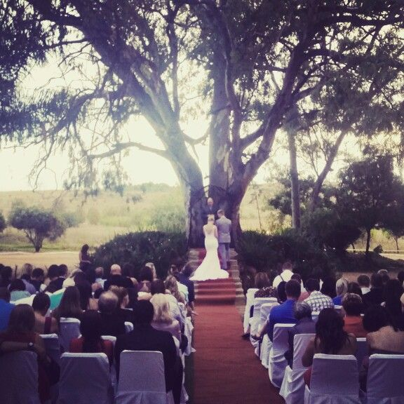 Getting married under our big tree at Casa-lee Country Lodge www.casa-lee.co.za #casalee #weddings #classical #elegant #pretoria