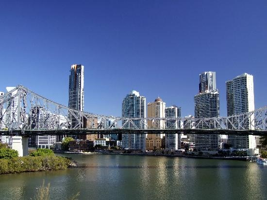 Brisbane and Story Bridge #Australia