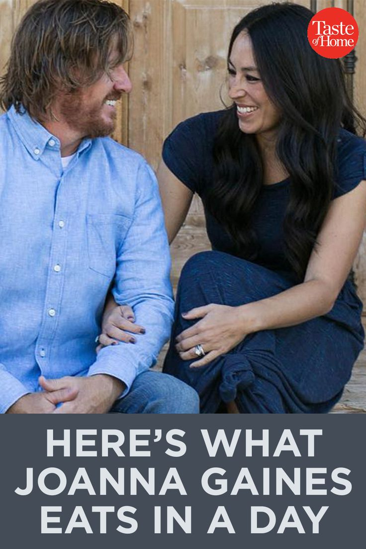 This Is What Joanna Gaines Eats In a Day