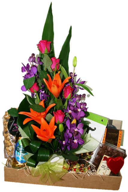 """Wow"" Flowers and goodies!"