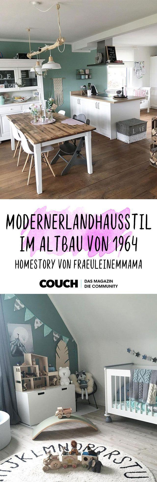 Moderner Landhaustil im Altbau von 1964: Homestory…