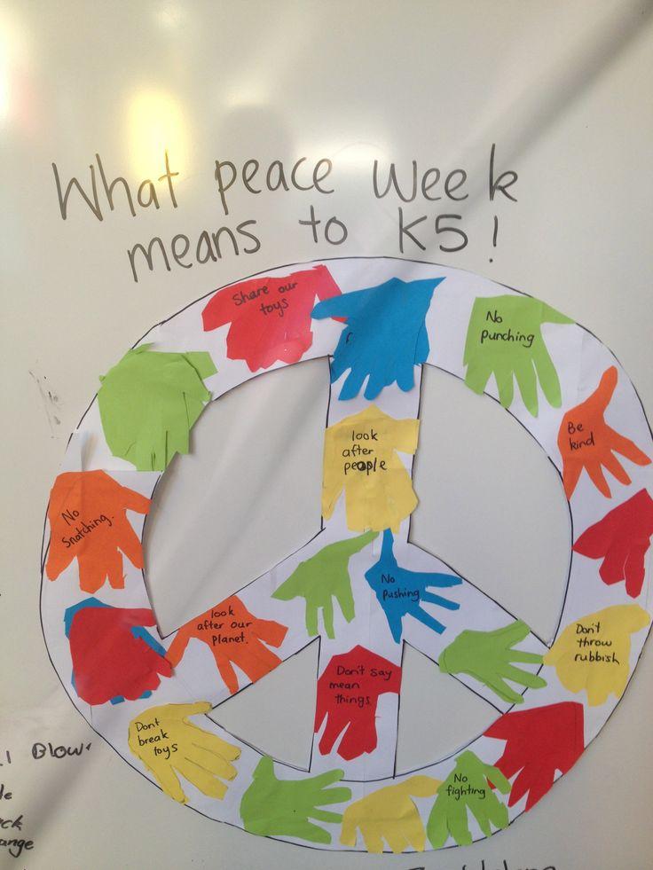 Peace week poster