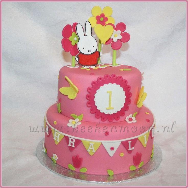 Miffy cake by KEEK - Nijntje taart