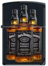 Jack Daniels Bottle-218 Black Matte cheap zippo lighter for sale
