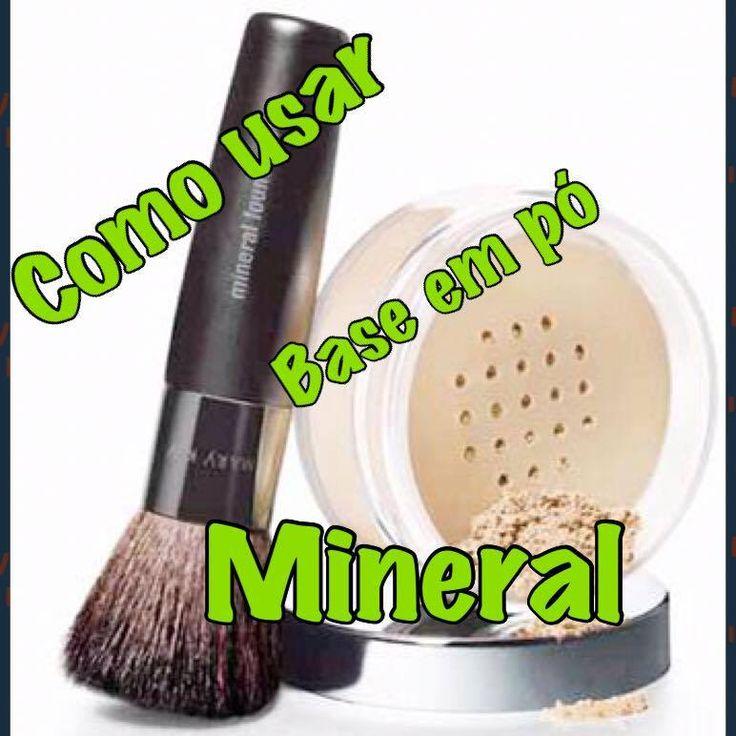 Como usar a Base em pó Mineral- Dicas Mara!!!