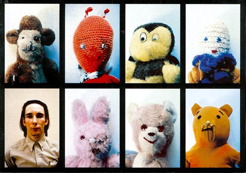 """Mike Kelley, Ahh. . . Youth, 1991, in """"Self Portraits""""mike kelley"""