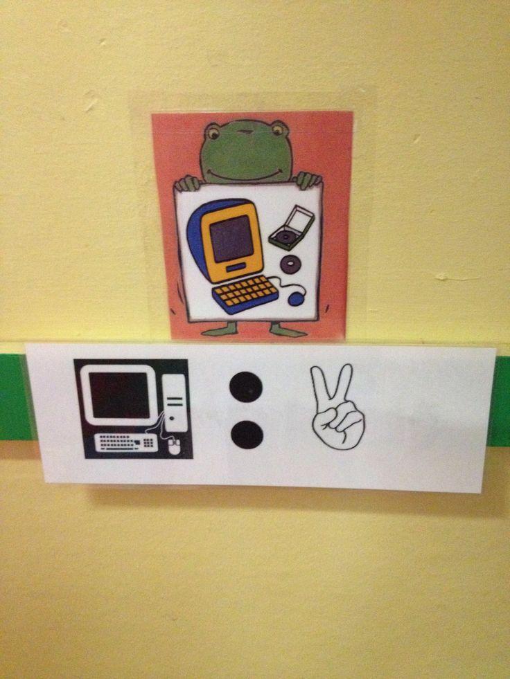 Hoekkaartje computerhoek 4&5-jarigen (JufJulide)