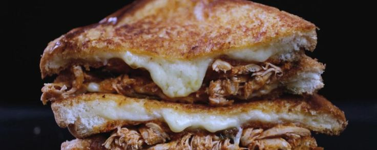 Double Decker Buffalo Grilled Cheese Sandwich Recipe | The Chew - ABC.com - http://abc.go.com/shows/the-chew/recipes/double-decker-buffalo-grilled-cheese-sandwich