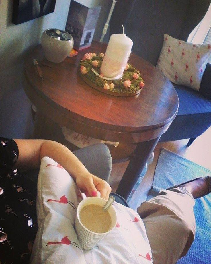 Irodai kávézás - májusi hangulatom