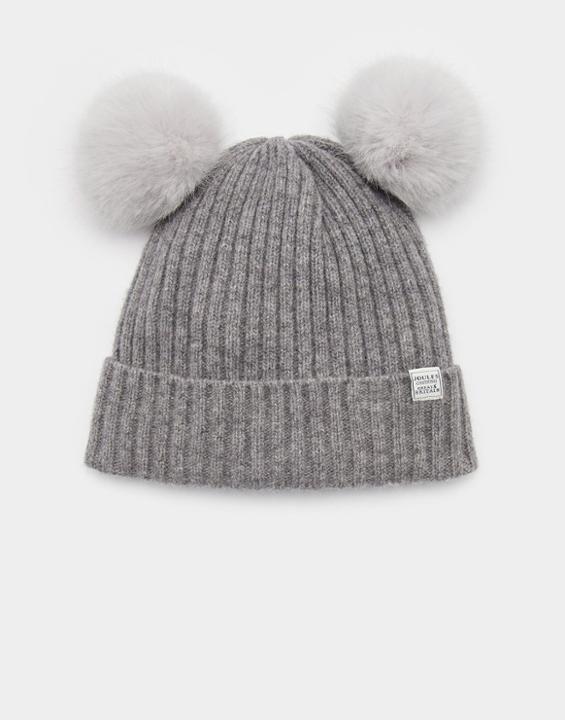 e3d2f8fc1766b Joules Women s grey bobble Hat