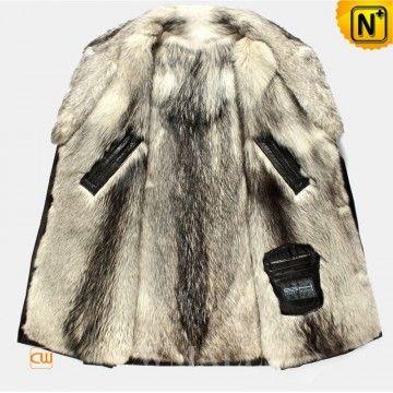 873edc6b5f3c Mens Wolf Fur Winter Coat CW855587