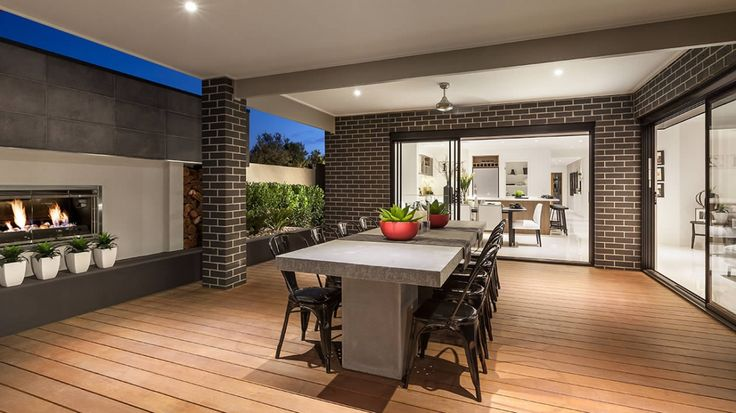 Alfresco as displayed at Featherbrook Estate, Point Cook