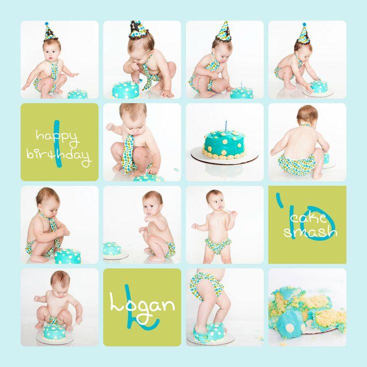 Cake Smash! Baby Boy!