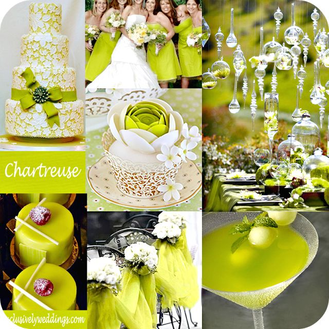 Il Tondo e l'Ovale - Event and Wedding: Colore matrimonio: Chartreuse ( verde acido )