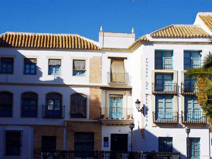 Fachada Posada San Fernando, Hotel con Encanto en Carmona
