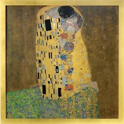 The Met Store - Gustav Klimt: The Kiss Framed Panel