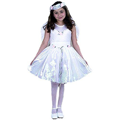 Child's Girl's Angel Costume (Size:Large 10-12)