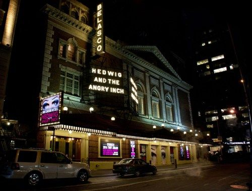 Hedwig and the angry inch at the Belasco theater