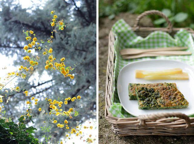 - VANIGLIA - storie di cucina: frittata di borragine per il picnic di pasquetta