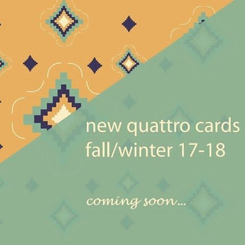 New greeting cards/ coming soon.  .  .  #quattrocards #quattroshapes #inspired #embroideryart #boho #bohemian #bohochic #ethnicstyle #ethnicshapes #greetingcards #madeingreece #greekdesign #aw1718 #new #collection #visualscollective #colorsofautumn #shapes